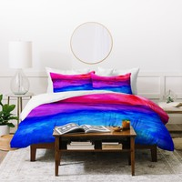 Jacqueline Maldonado Here Now Duvet Cover