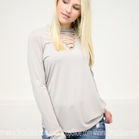 Strappy Solid Basic Top | Colors