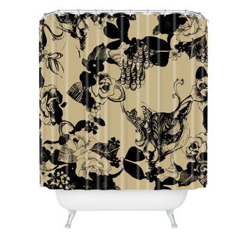 Pattern State Foxy Loxy Shower Curtain
