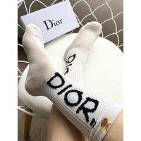 DIOR Lurex socks