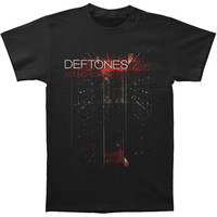 Deftones Men's  Koi No Yokan 2013 Tour Slim Fit T-shirt Black Rockabilia