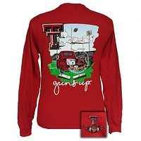 Texas Tech Red Raiders Tailgates & Touchdowns Party Long Sleeve T-Shirt