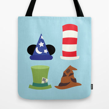 Magic in a Hat Tote Bag by Page394
