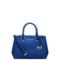 Sutton Small Saffiano Leather Satchel | Michael Kors