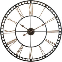 Metal Fusion Wall Clock by Infinity Instruments