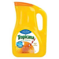 Tropicana Pure Premium No Pulp Calcium + Vitamin D 100 % Pure Orange Juice - 89 fl oz