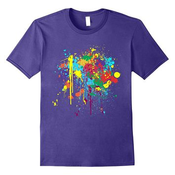 Pretty Dirty Paint Splatter T-shirt