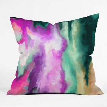 Jacqueline Maldonado Fever Dream Throw Pillow