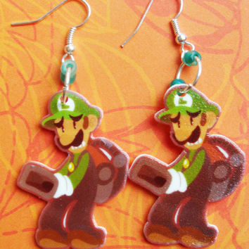 Luigi's Mansion - Earrings