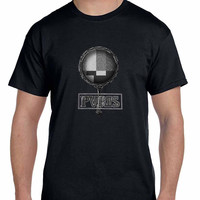 Pvris Mirror Black And White Effect Mens T Shirt
