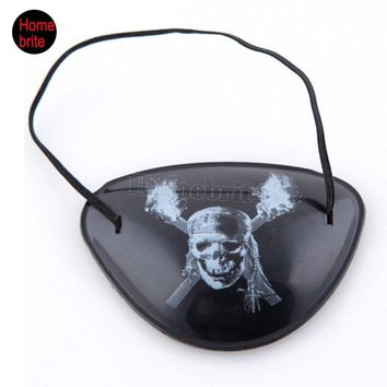 1Pcs Pirate Eye Patch Halloween Props Accessories Masquerade Pirates Of The Caribbean Accessories Pirate Goggles HW178
