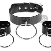 Obscure Set XL: Choker + Cuffs