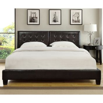 Modus Ledge Upholstered Platform Bed | Hayneedle