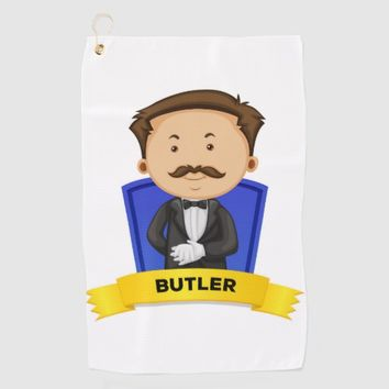 Butler Golf Towel