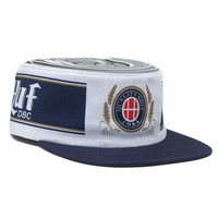 HUF - AUTHENTIC PILLBOX SNAPBACK // NAVY / WHITE
