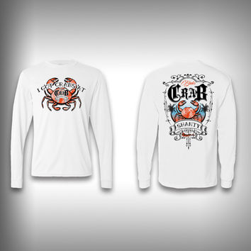Crab Shanty - Performance Shirts - Fishing Shirt