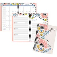 2017-2018 AT-A-GLANCE® 4 7/8 x 8 Claire Academic Weekly/Monthly Planner, 12 Months, Floral (1014-200A-18) | Staples