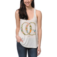 Obey OG Spring Natural White Vintage Tank Top