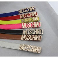 MOSCHINO Fashion Letters Belt