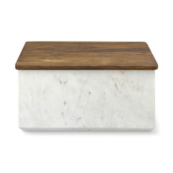 Marble Bread Box