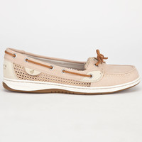 Sperry Top-Sider Angelfish Womens Boat Shoes Tan  In Sizes
