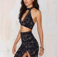 Nasty Gal Perfect Match Pencil Skirt