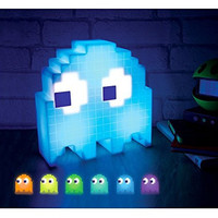 Pac-Man Ghost Color Changing Light
