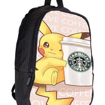 Pokemon Starbuck for Backpack / Custom Bag / School Bag / Children Bag / Custom School Bag *02*