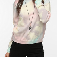 Urban Outfitters - Something Else By Natalie Wood Rainbow Cloud Pullover Sweater