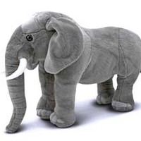 Elwood the Elephant Home to the Largest Stuffed Animals in the World