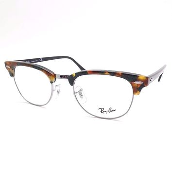 Ray Ban 5154 5493 Clubmaster Green Havana Frames Authentic New