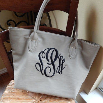 Monogrammed Large Purse