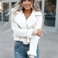 Fur Lined Aviator Jacket