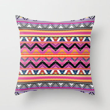 Aztec #7 Throw Pillow by Ornaart | Society6