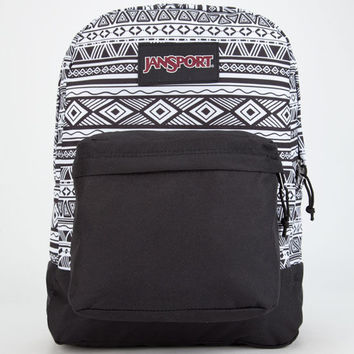 Jansport Black Label Superbreak Backpack Black Combo One Size For Men 25742014901