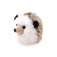 Sebastian the Brown Hedgehog Stuffed Animal Plush Toy