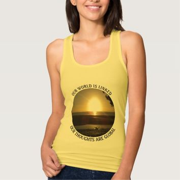 Global Photo Quote by Kat Worth Tank Top