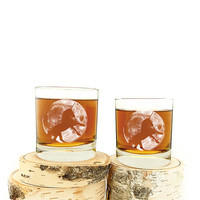 I liked this design on #Fab. Moon And Unicorn Whiskey 4 Pack