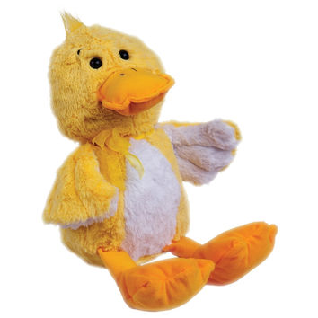 Yellow Ducky with Bow Plush Toy