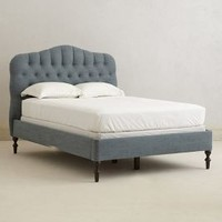 Winchester Bed by Anthropologie Navy Queen Furniture