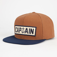 Captain Fin Naval Captain Mens Snapback Hat Navy Combo One Size For Men 26242221101