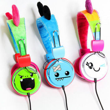 SO SO Happy - Plush Headphones - Official Shop