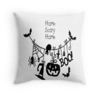 'Home Scary Home Halloween Decor' by Swigalicious