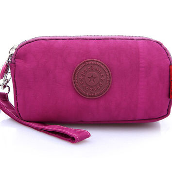 Ladies Purse Coin Multilayer Nylon Clutch Bag Small Waterproof Messenger Crossbody Bags For Women Latest Fashion Womens Bags