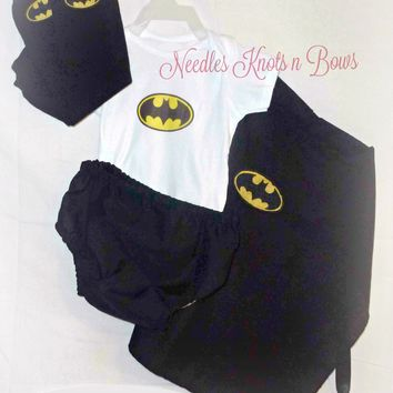 Baby Boys Batman Costume, Newborns, Toddlers Superhero Costume, Halloween