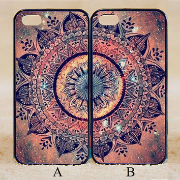 Mandala,Best Friend,Custom Case, iPhone 4/4s/5/5s/5C, Samsung Galaxy S2/S3/S4/S5/Note 2/3, Htc One S/M7/M8, Moto G/X