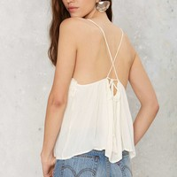 Cliffside Embroidered Cami Top