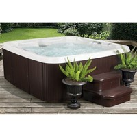 LifeSmart 6-Person 30-Jet Spa with Bonus Spa Steps