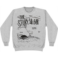 Story So Far Men's  Mt. Diablo Sweatshirt Grey Rockabilia