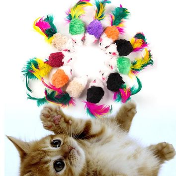 Funny Mice & Animal Playing Cat Toys